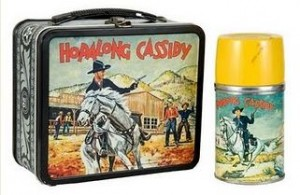 Hopalong Cassidy Lunch Box from 1950