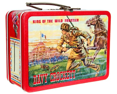 ADCO Kit Carson Davy Crockett Lunchbox Front