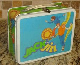 Ohio Arts 1982 Jack & Jill Lunch Box